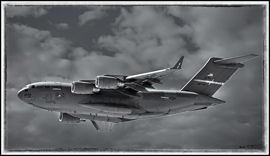 C-17 Globemaster IIi Bwf Photograph