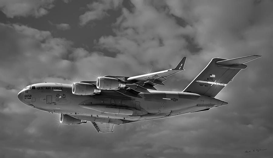 C-17 Globemaster IIi Bws Photograph