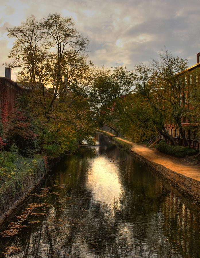 Hdr Photograph - C And O Canal by Brian Governale