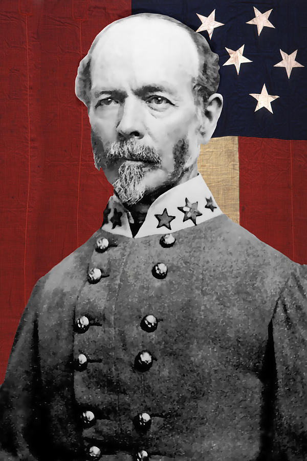 C s a general joseph e johnston digital art by daniel for Joseph e joseph italia
