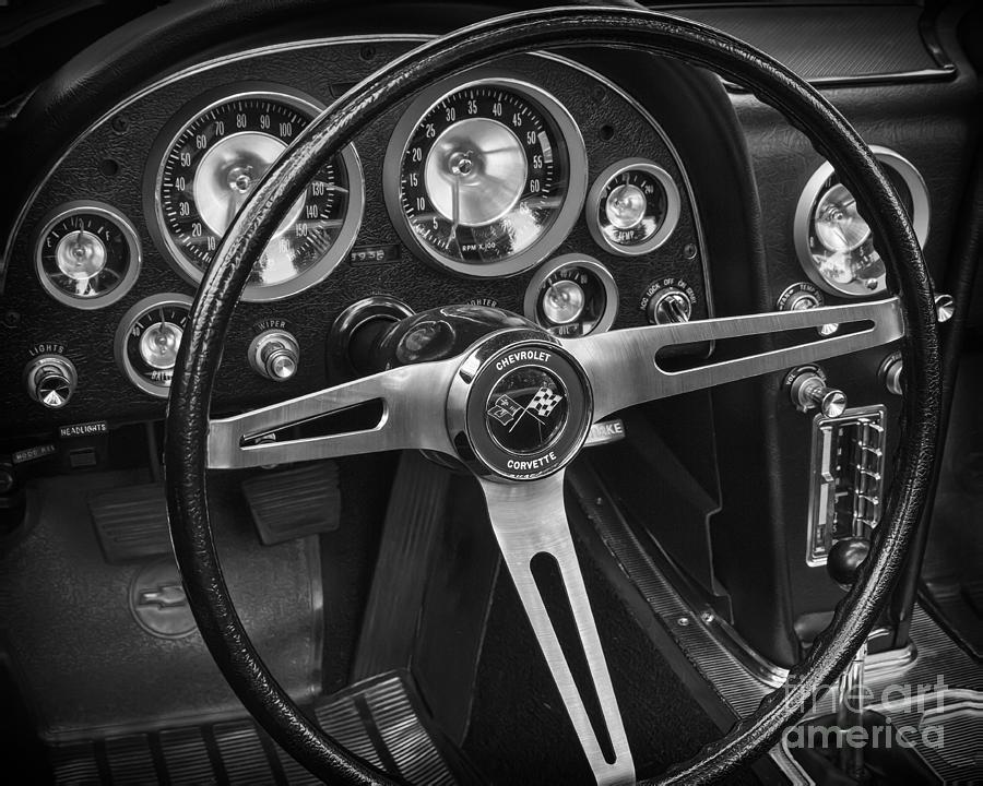 C2 Corvette Dash