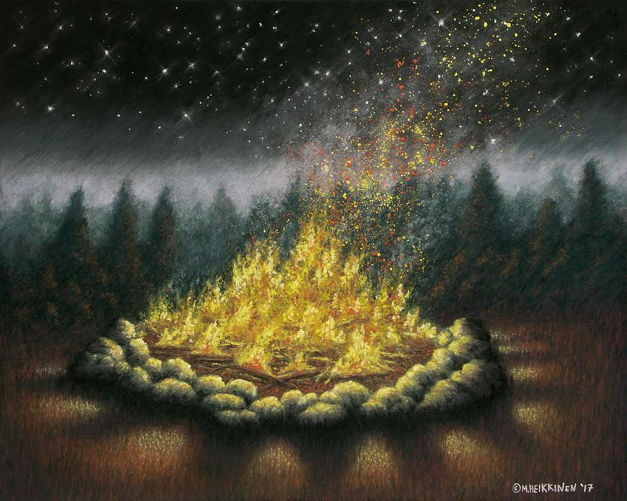 Campfire 01 by Michael Heikkinen