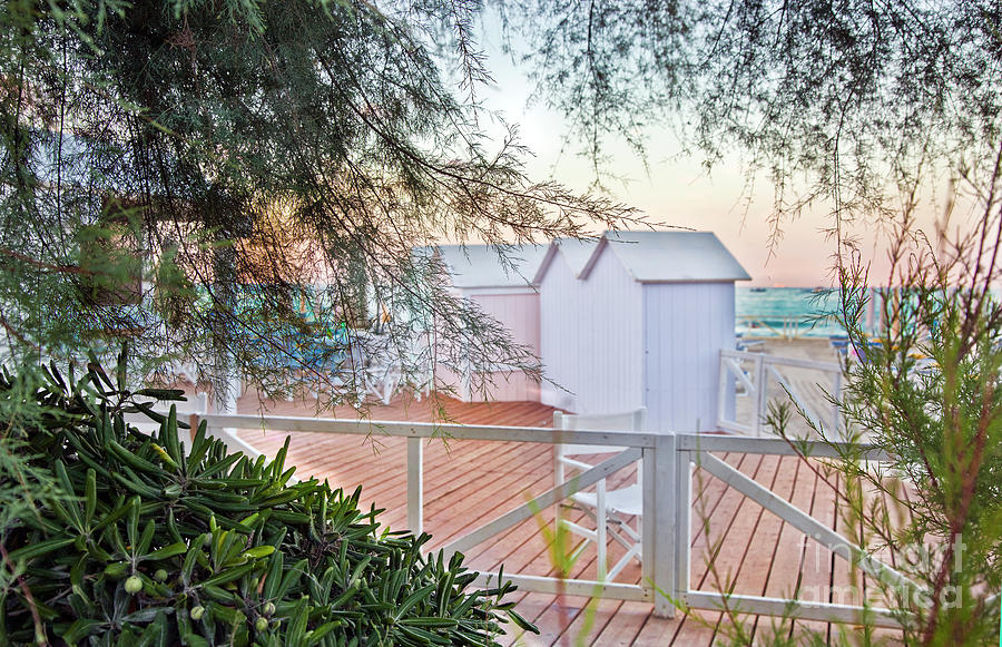 Cabanas Photograph - Cabana View by Madeline Ellis