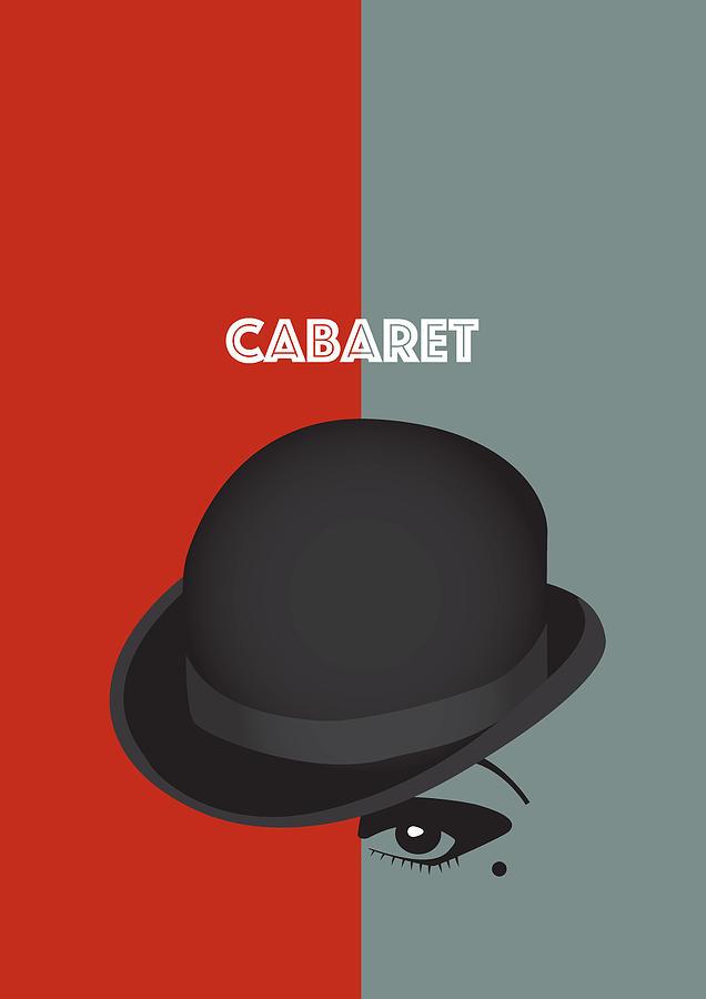 Cabaret Digital Art - Cabaret - Alternative Movie Poster by Movie Boy