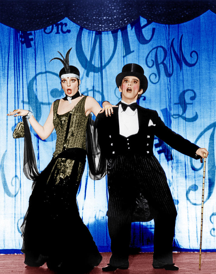 Backdrop Photograph - Cabaret, From Left Liza Minnelli, Joel by Everett