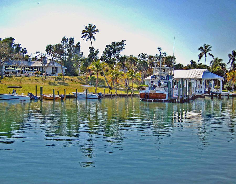 Water Photograph - Cabbage Key by Michael Thomas