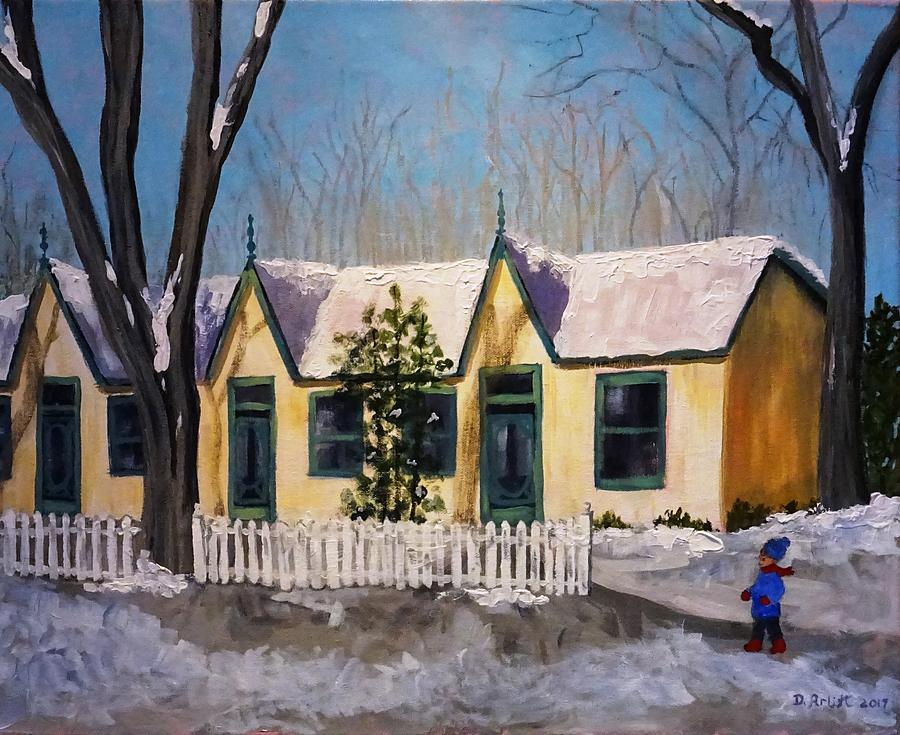 Cabbagetown Christmas by Diane Arlitt