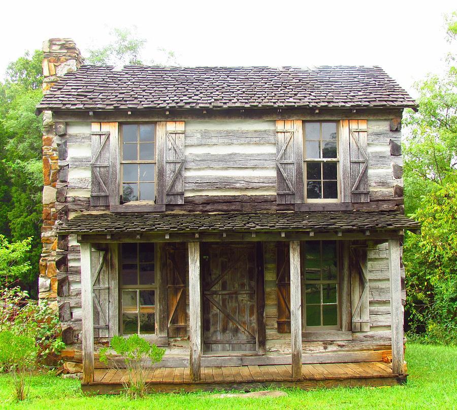 Cabin Photograph - Cabin #2 by Shelley Wilson