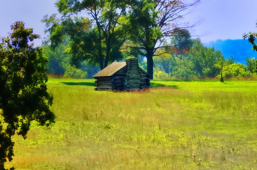 Cabin Photograph - Cabin At Valley Forge by Bill Cannon