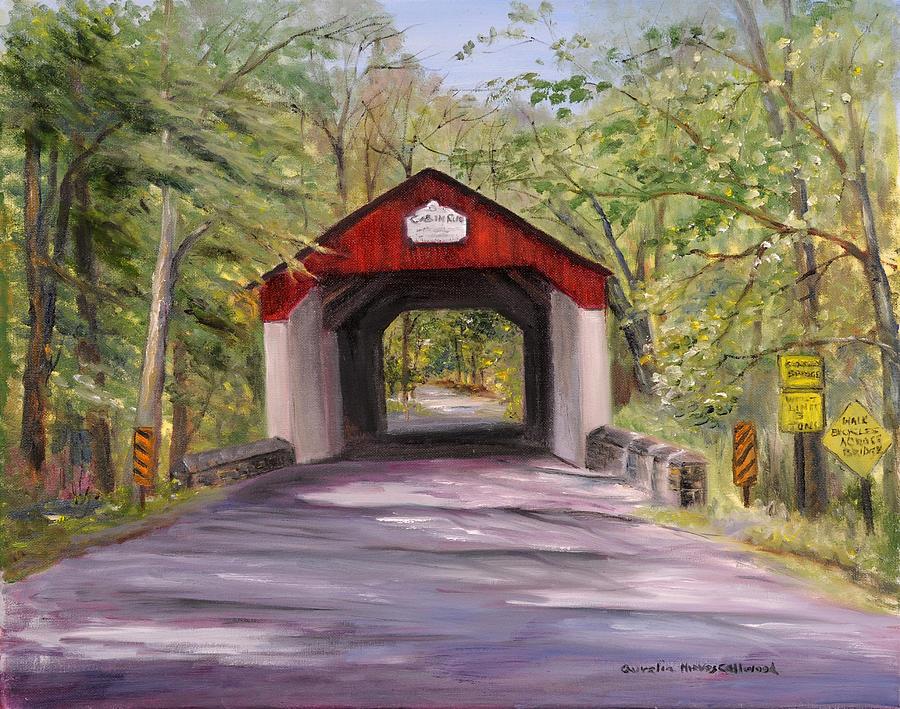 Cabin Run Bucks County PA by Aurelia Nieves-Callwood