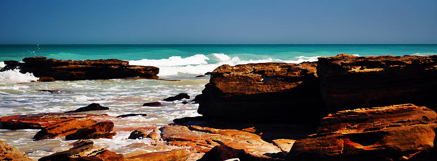 Landscape Digital Art - Cable Beach Broome by Phill Petrovic
