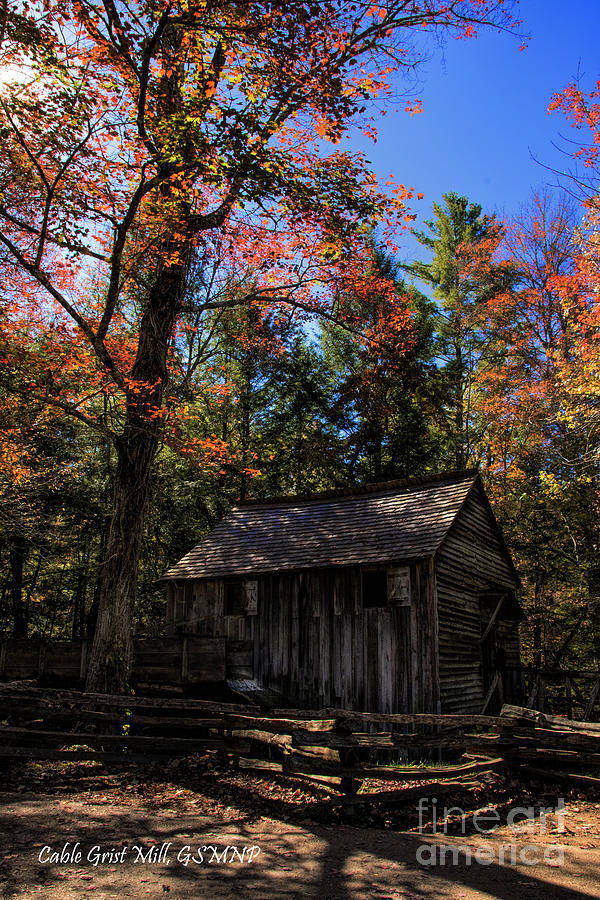 Cable Grist Mill by Barbara Bowen
