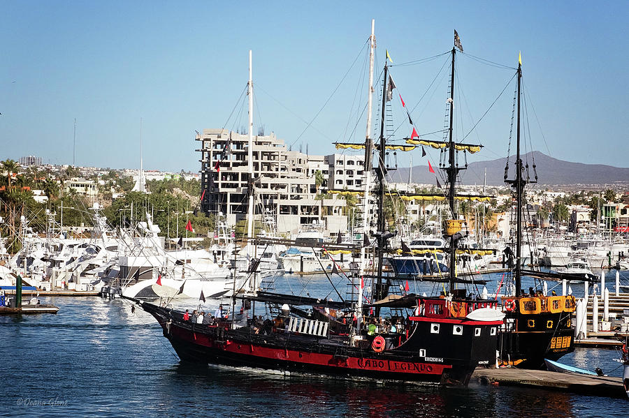 Cabo Legend Pirate Ships by Deana Glenz