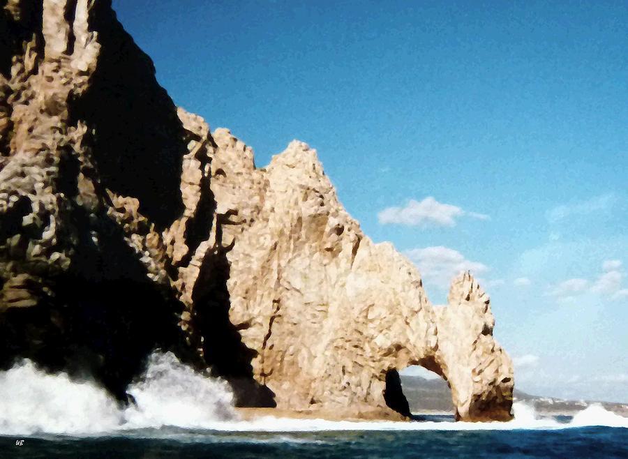Mexico Photograph - Cabo San Lucas Arch by Will Borden