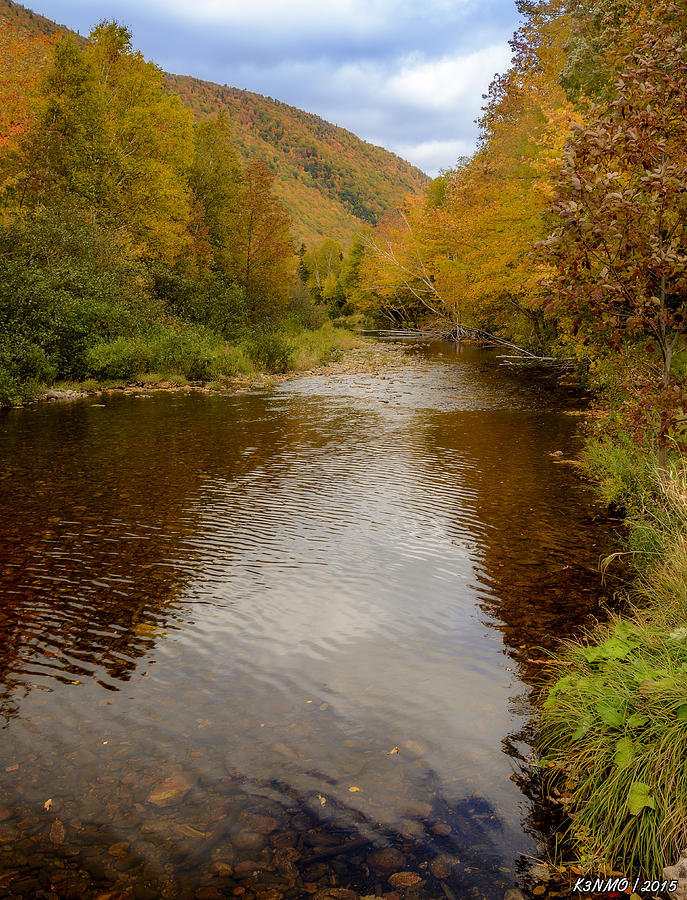 Atlantic Photograph - Cabot Trail Autumn 2015 by Ken Morris