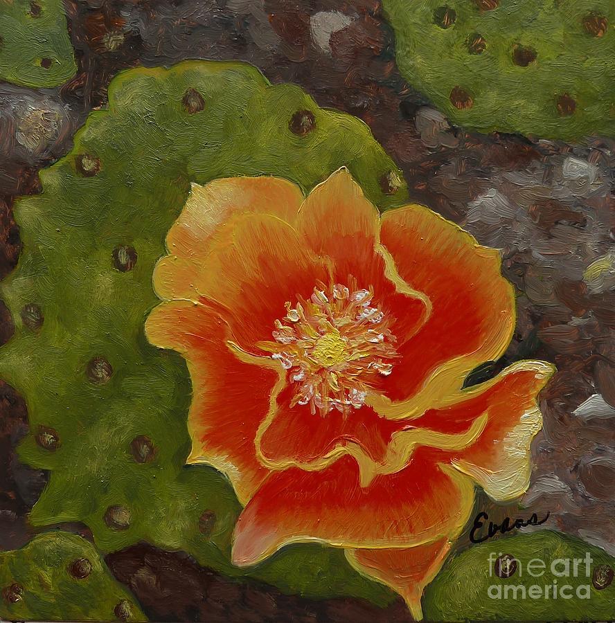 Cactus Flower by Lynda Evans