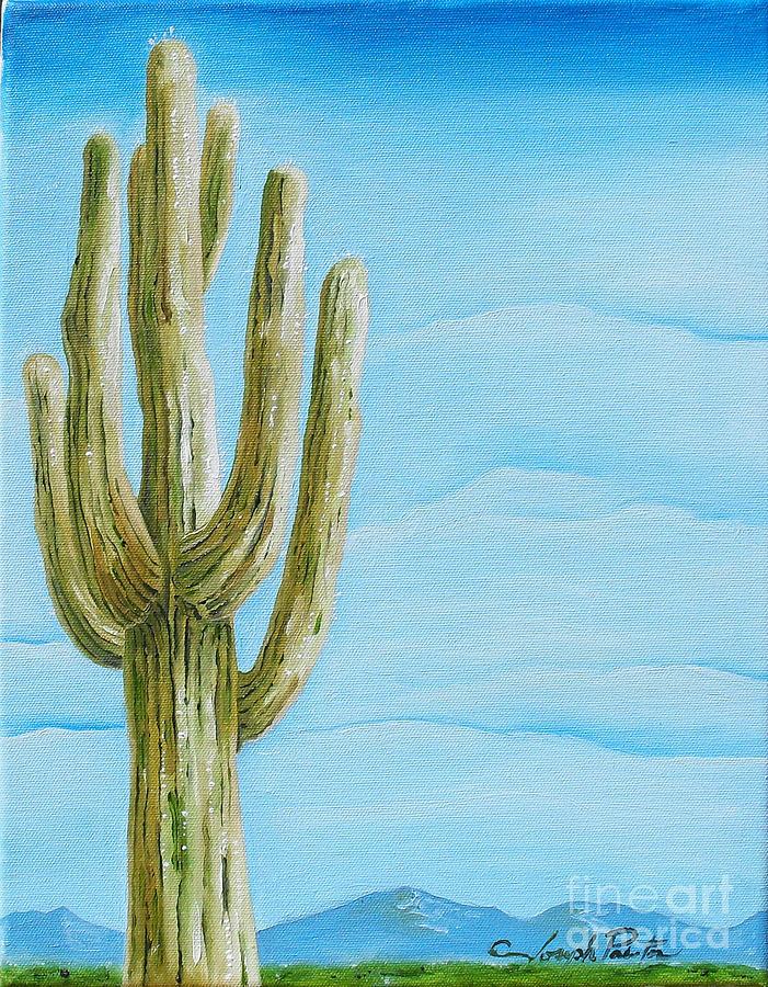 Cactus Jack Painting - Cactus Jack by Joseph Palotas