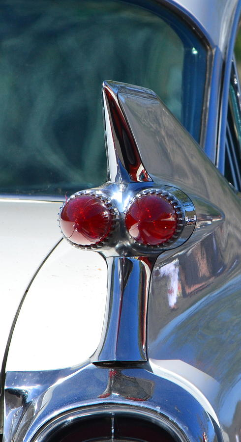 Cadillac Fins Photograph
