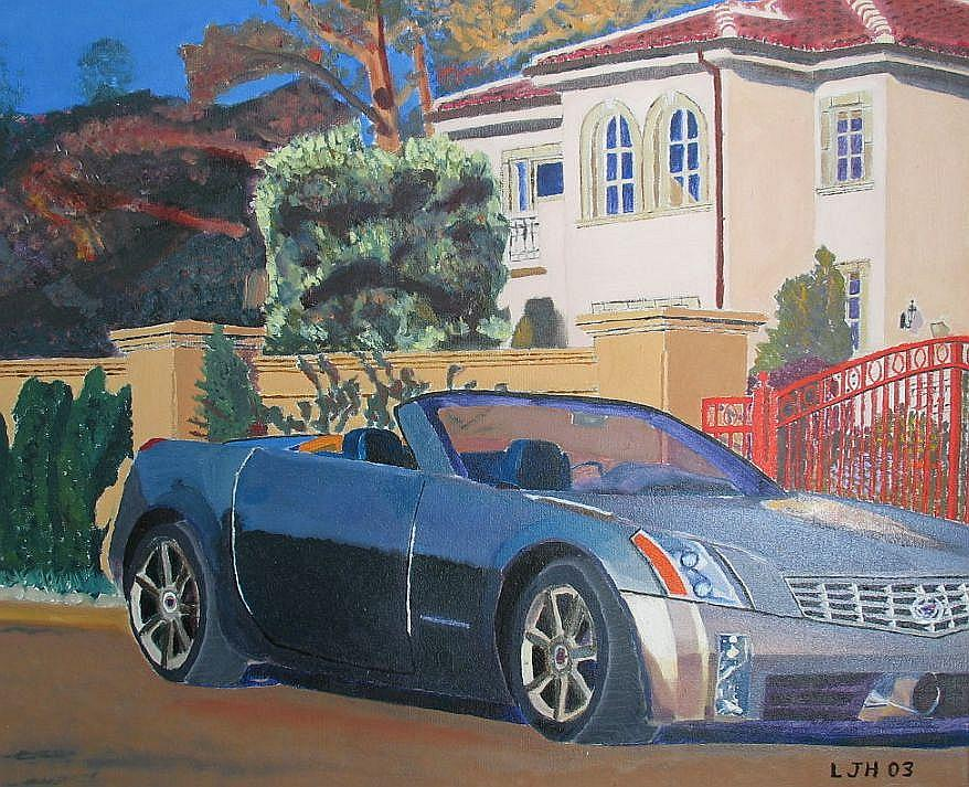 Cadillac Painting - Cadillac by Larry Herscovitch