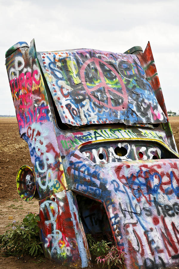 Americana Photograph - Cadillac Ranch by Marilyn Hunt
