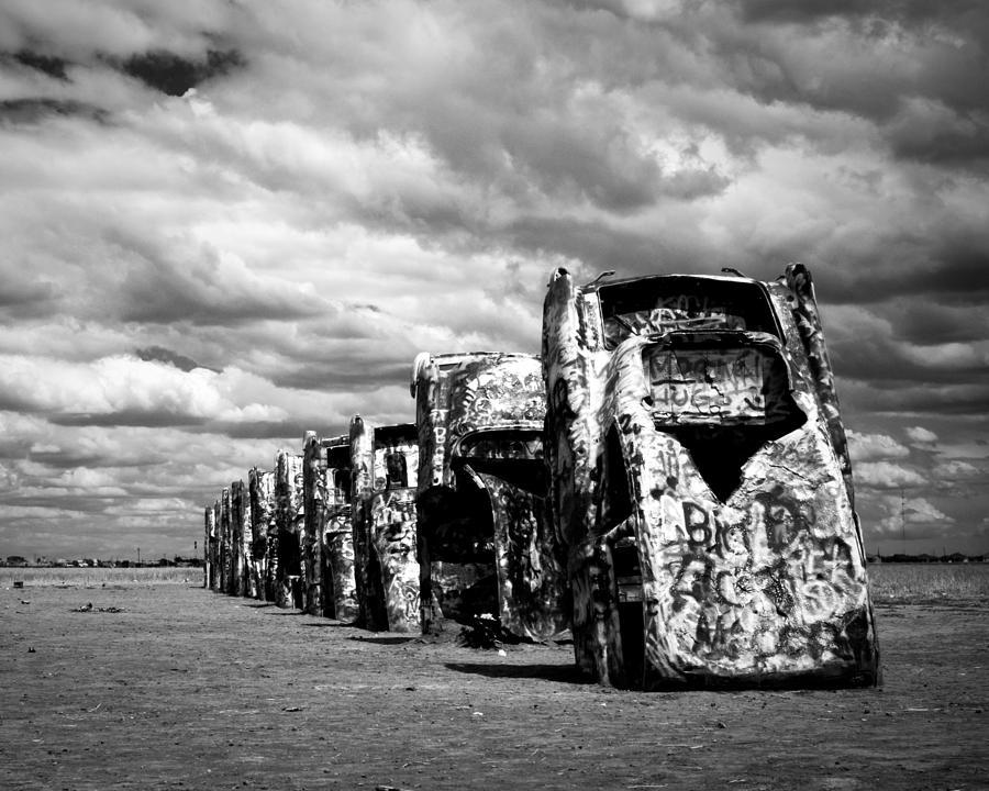 New Mexico Photograph - Cadillac Ranch by Sonja Quintero
