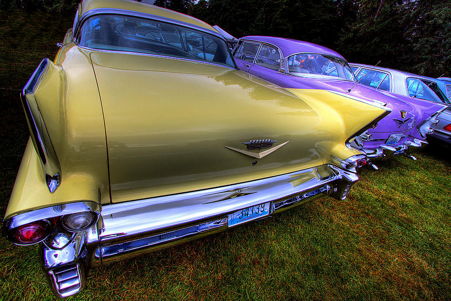 Cadillacs All In A Row Photograph