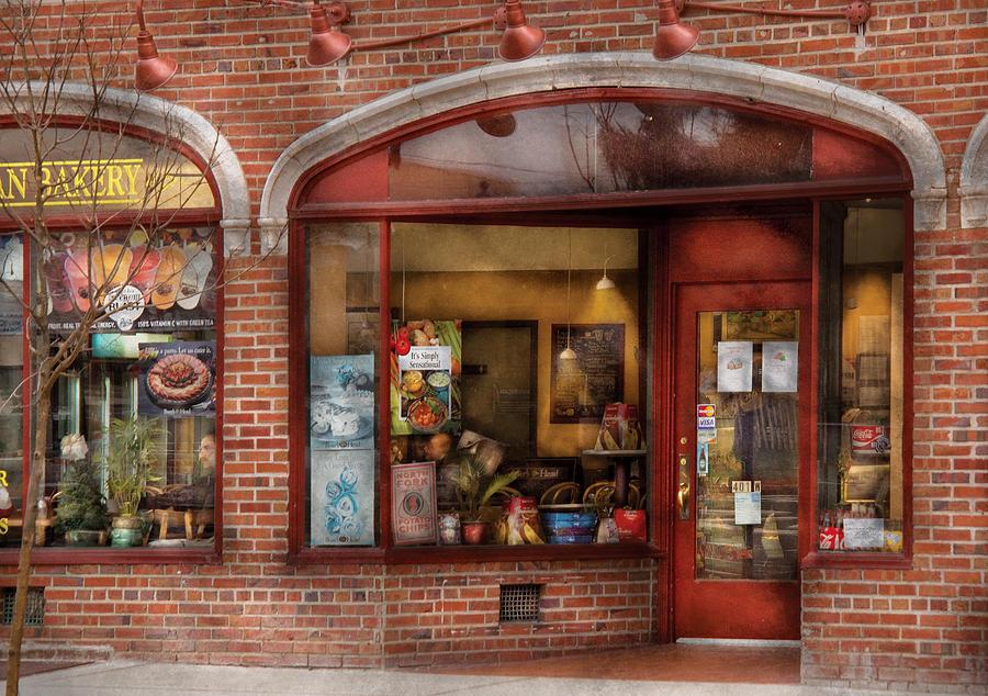 Cafe Photograph - Cafe - Westfield Nj - Tutti Baci Cafe by Mike Savad