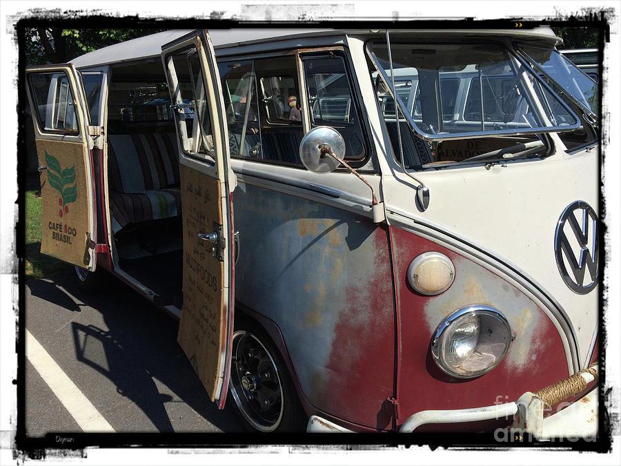 Volkswagen Photograph - Cafe Brasil  by Steven Digman