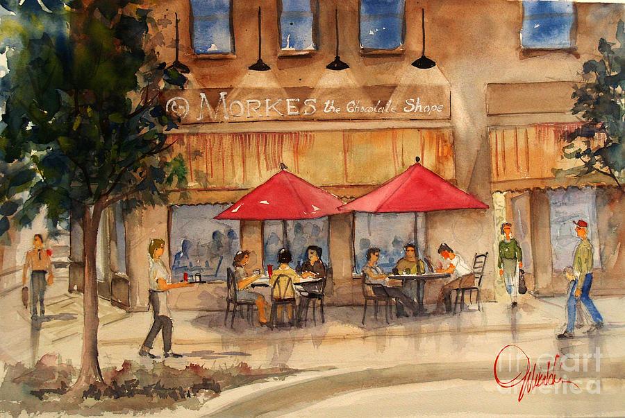 Cafe Chocolate by Gerald Miraldi