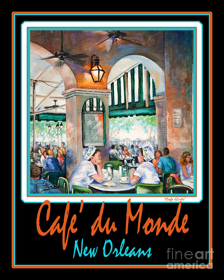 French Quarter Painting - Cafe Du Monde by Dianne Parks