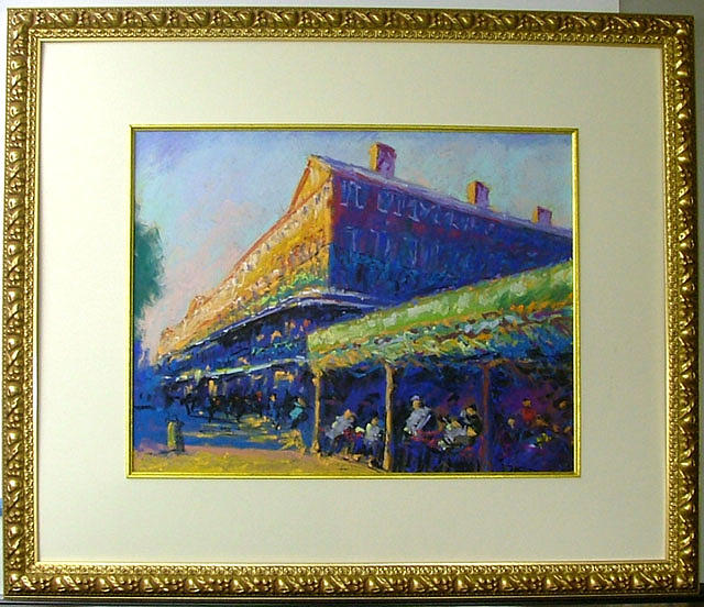 Cityscape Painting - Cafe Du Monde by Joachim Casell