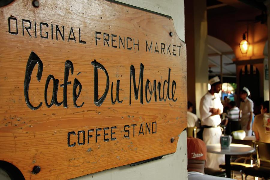 Cafe Du Monde Photograph - Cafe Du Monde by KG Thienemann