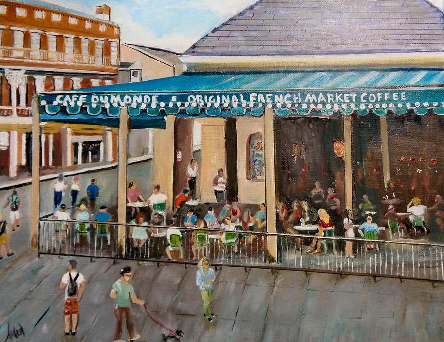 Cafe DuMonde by Arlen Avernian - Thorensen