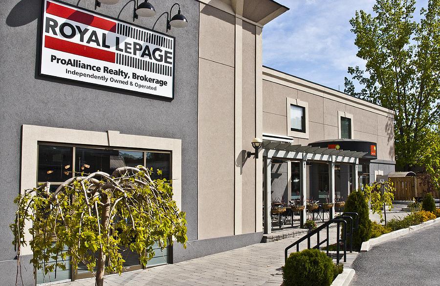 Royal Lepage Photograph - Cafe E Entrance Wide Shot by Michael Rutland