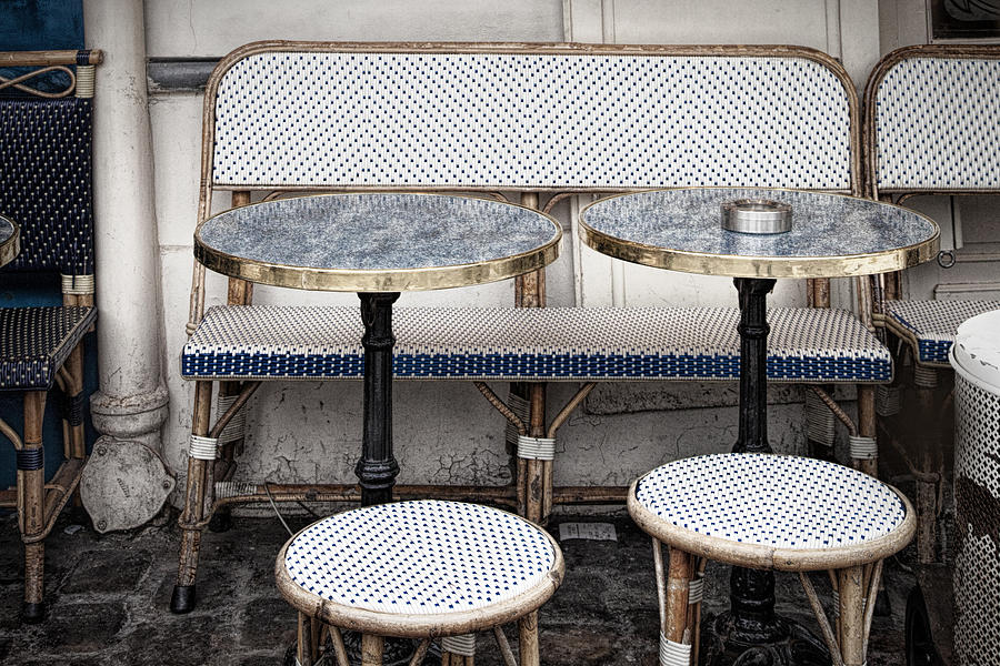 Paris Photograph - Cafe For Two by Andrew Soundarajan