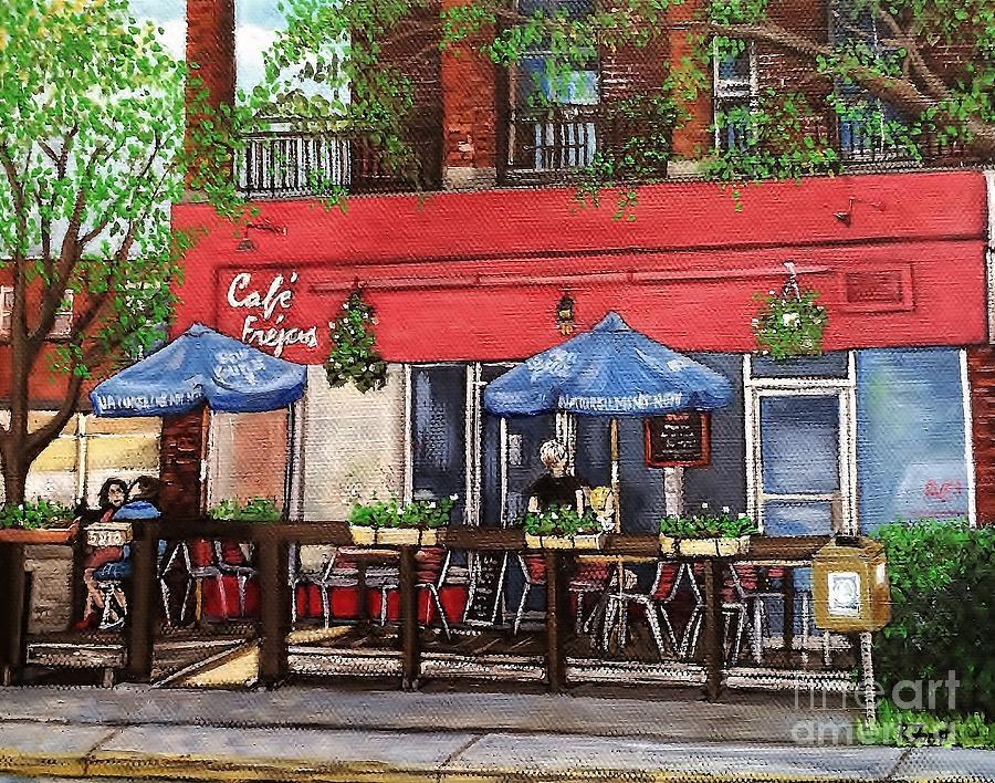 Cafe Frejus Verdun by Reb Frost