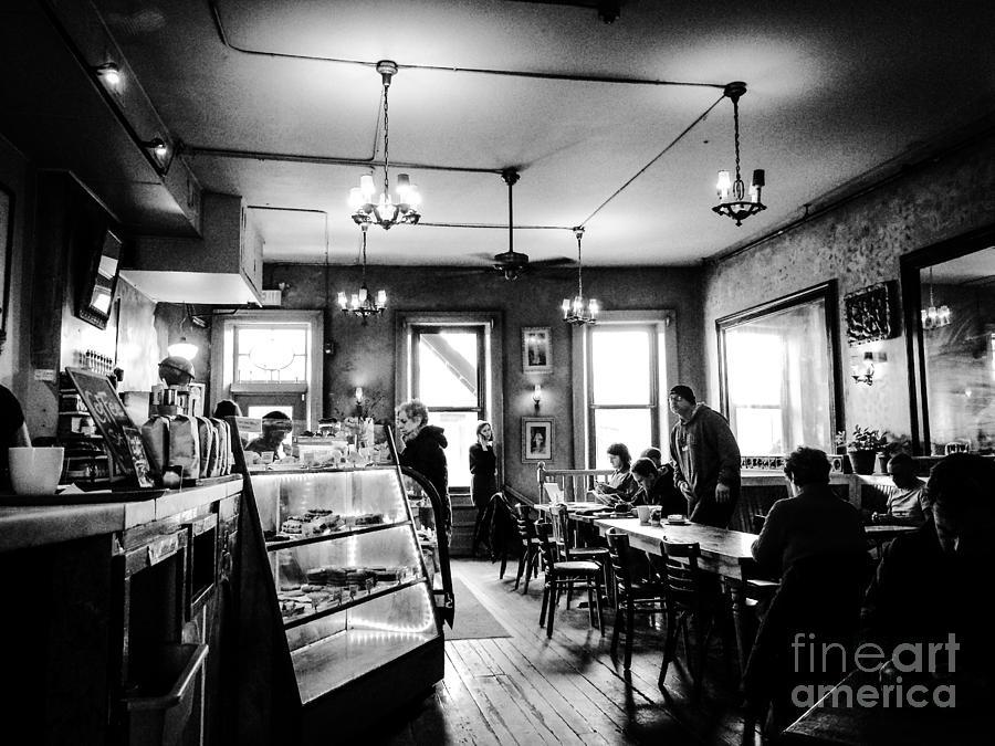 Cafe Light Photograph by JMerrickMedia