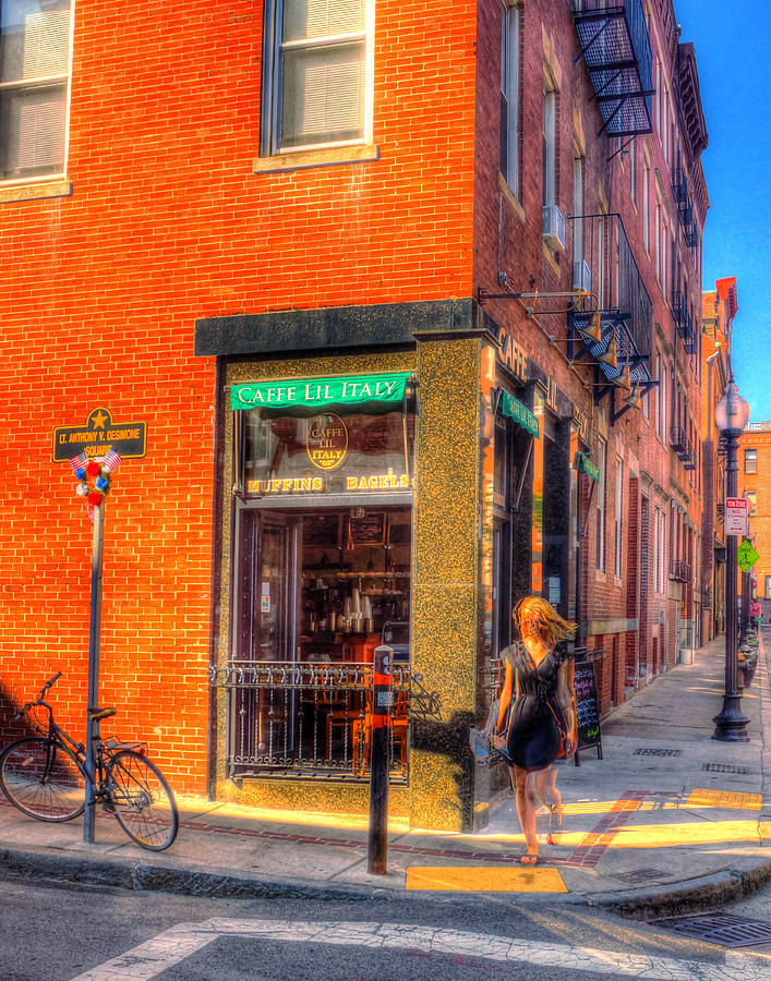 Cafe Little Italy Photograph