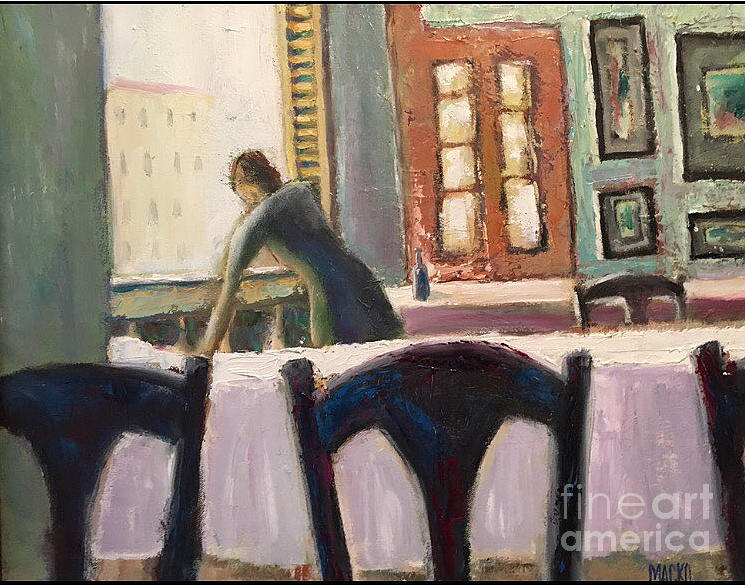 Light Painting - Cafe by Mark Macko