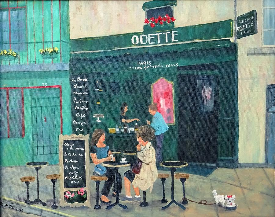 Cafe Odette by Diane Arlitt