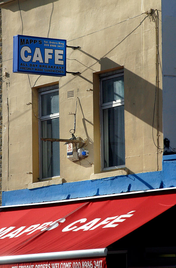 Photographer Photograph - Cafe Old Ford by Jez C Self