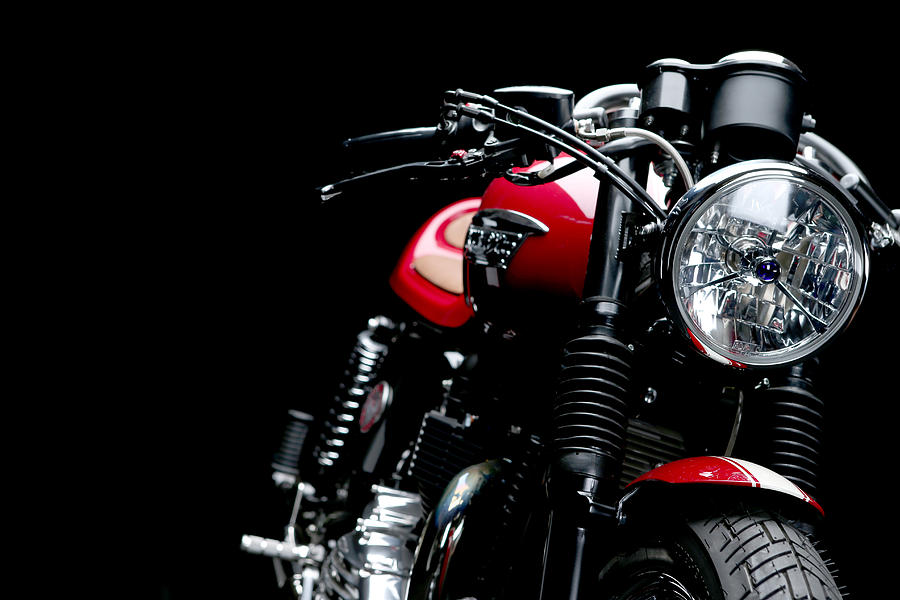 Triumph Photograph - Cafe Racer by Keith May