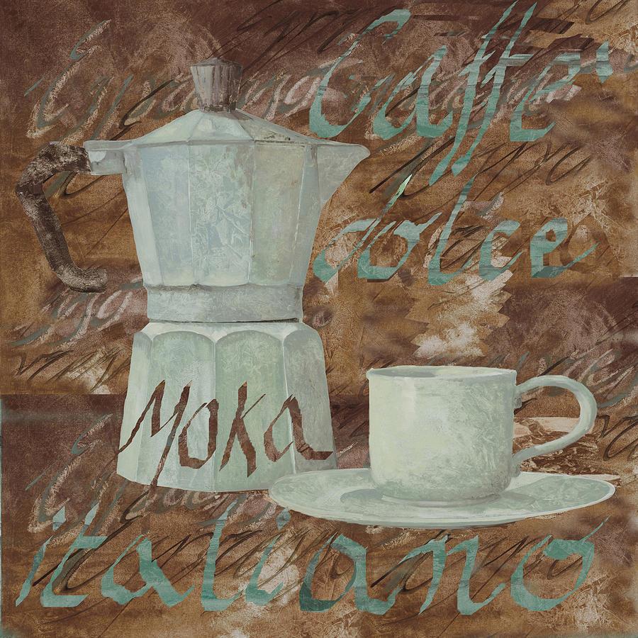 Caffe Painting - Caffe Espresso by Guido Borelli