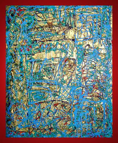 Cahla Painting by Luminita Feodoroff