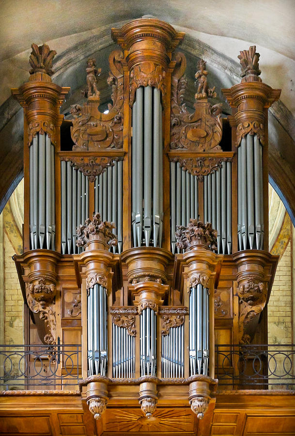 Cahors Cathedral organ by Jenny Setchell