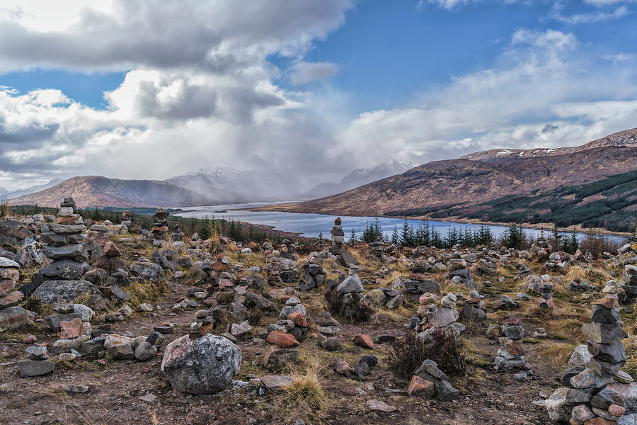 Paisley Photograph - Cairns Of Loch Loyne by Mike Herdering