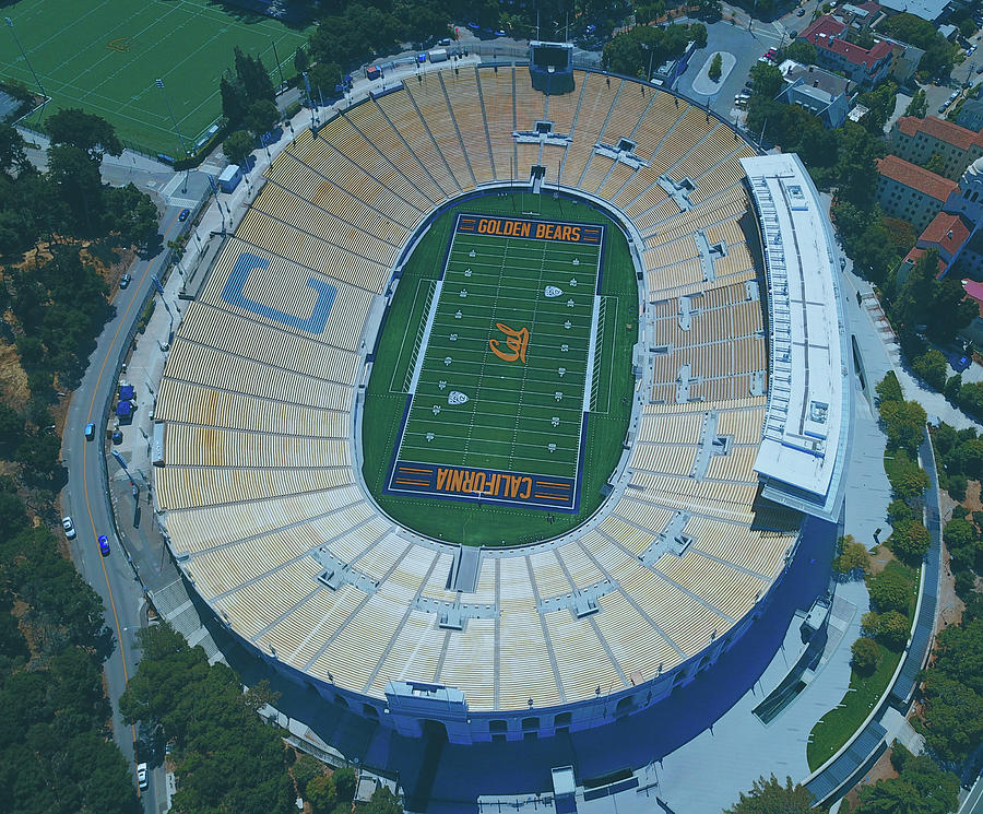 Cal Photograph - Cal Memorial Stadium by Unsplash