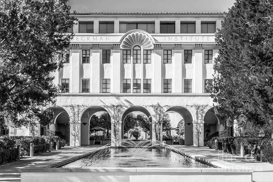 Cal Tech Photograph - Cal Tech Beckman Institute by University Icons