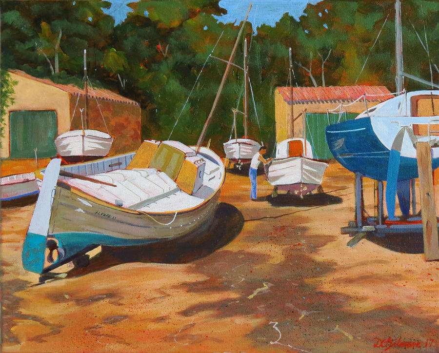 Cala figuera Boatyard - I by David Gilmore