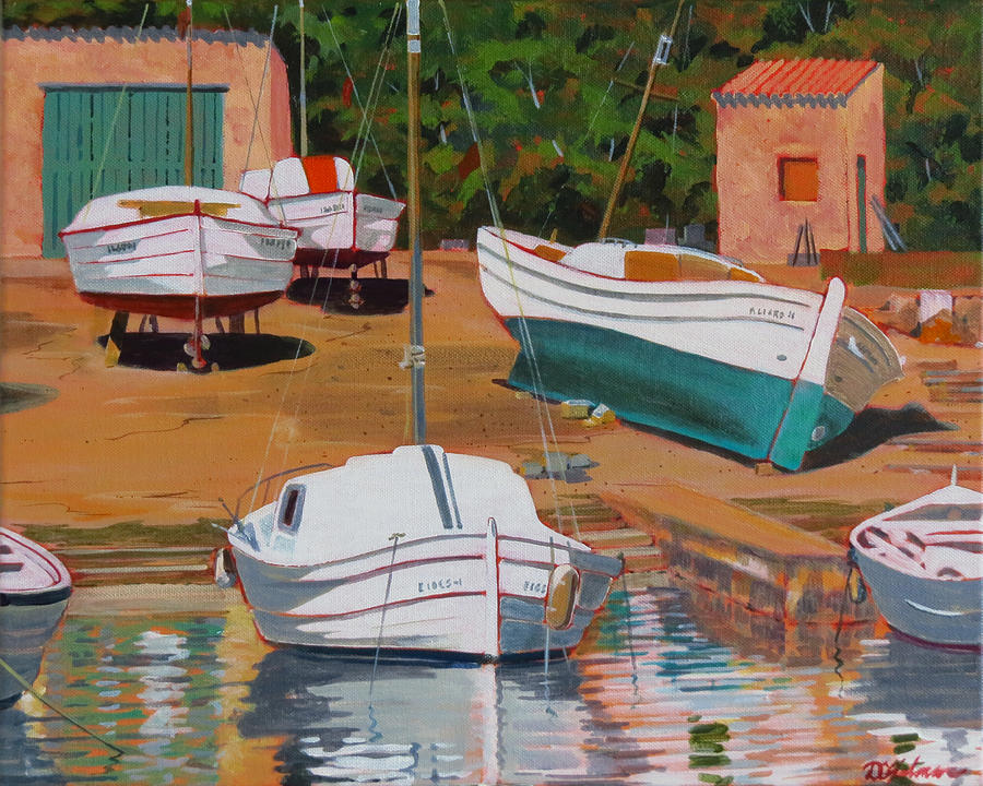 Cala Figuera Boatyard - II by David Gilmore